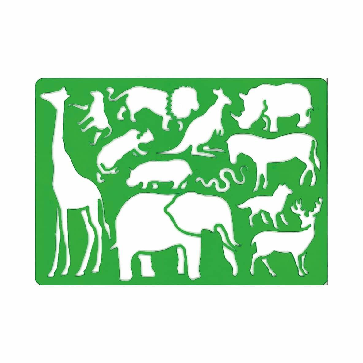 Grille à dessin Safari