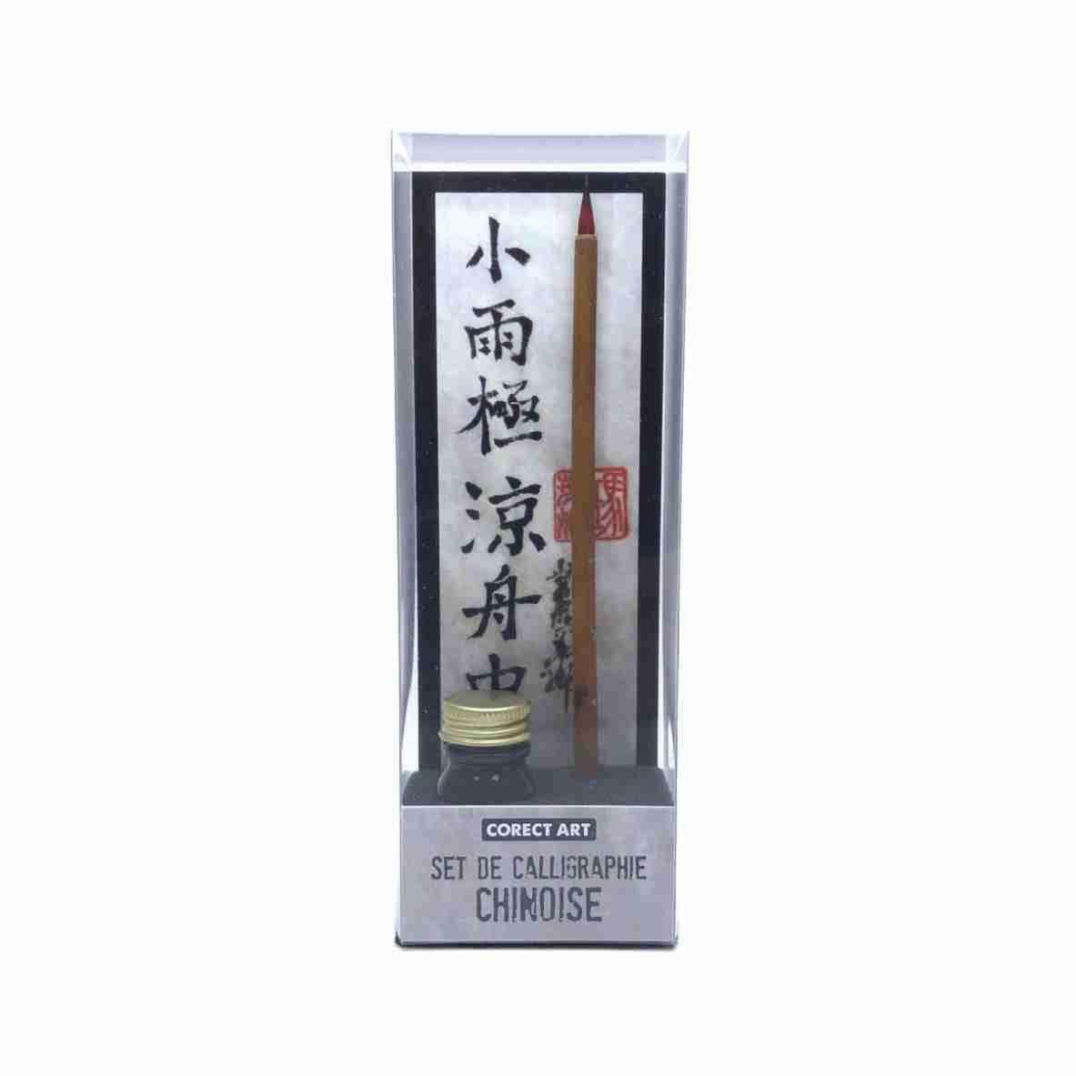 Set de calligraphie chinoise